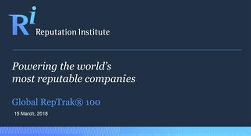 2018 Global RepTrak