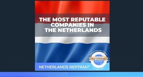 2018 Netherlands RepTrak