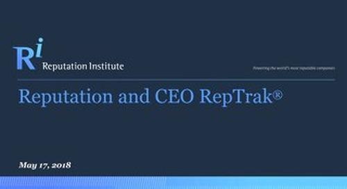 2018 CEO RepTrak