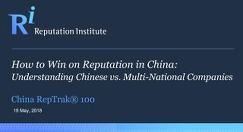 2018 China RepTrak