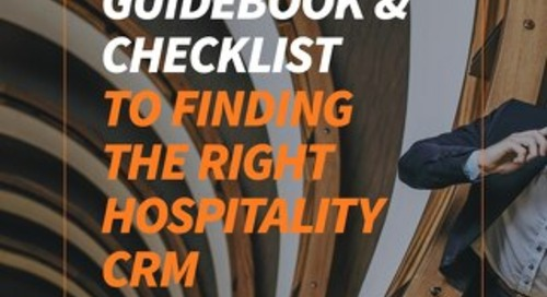 RFP Guidebook & Checklist To Finding The Right Hospitality CRM