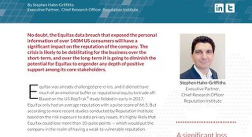 Equifax Data Privacy Crisis Insights Brief