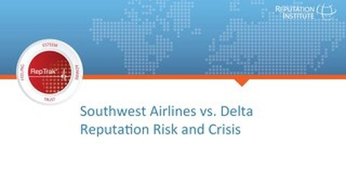 A Tale of Two Airlines: Reputation Risk at Southwest vs. Delta