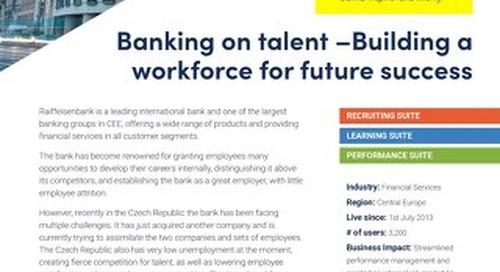 Case Study Raiffeisen - Building a workforce for future success