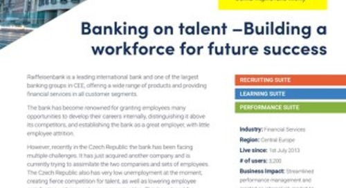 Case Study Raiffeisen - Building a workforce for future success