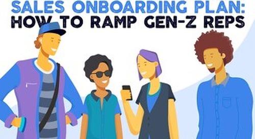 The Epic One Week Sales Onboarding Plan: How to Ramp Gen-Z Sales Reps