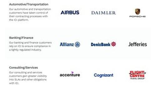 Icertis Customer Logos