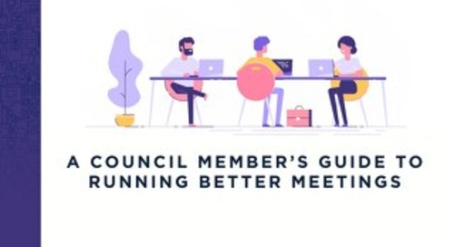 A Council Member's Guide to Running Better Meetings