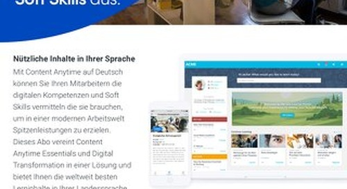 Datenblatt - Content Anytime
