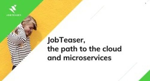 [JobTeaser] Vers le cloud et au delà