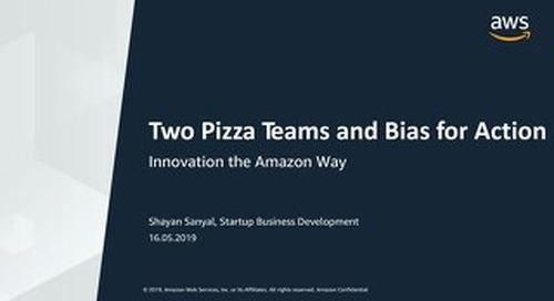 [AWS] Innovation the Amazon Way