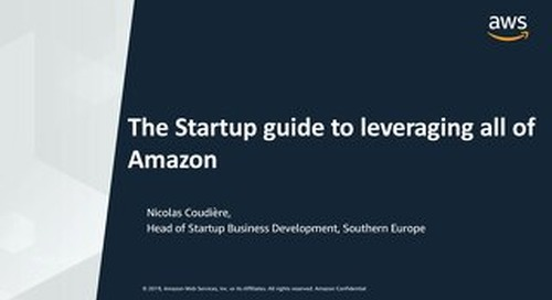 [AWS] The Startup guide