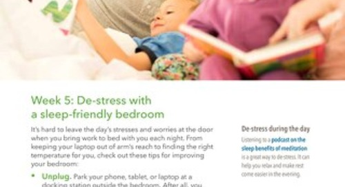 Rest and Revive: Week 5 Email (Your Sleep Friendly Bedroom)
