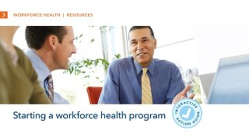 Starting a Workforce Health Program Toolkit