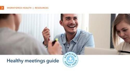 Healthy Meetings Guide