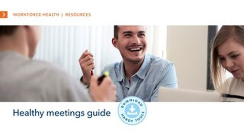 Healthy Meetings Guide