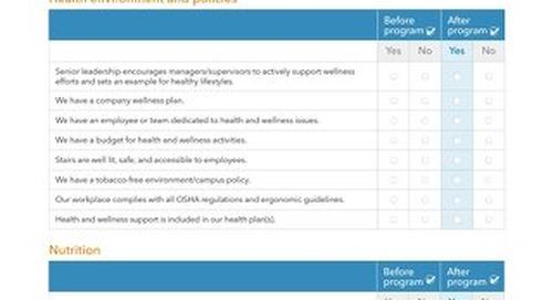 Worksite Health Survey