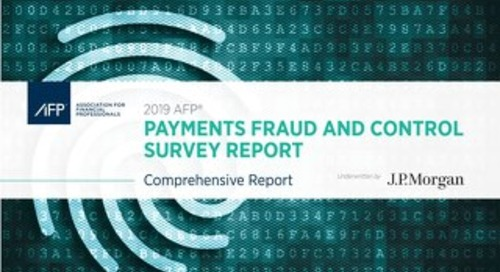 2019 AFP Fraud Report