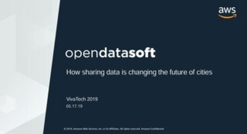 [Opendatasoft] How sharing data is changing the future of cities
