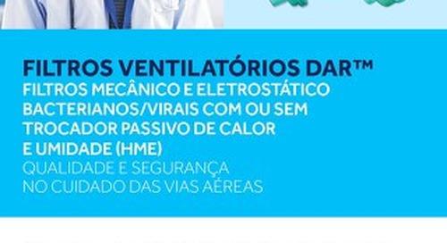 FILTROS VENTILATÓRIOS DAR™