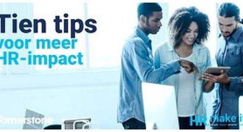 Tien tips voor meer HR-impact