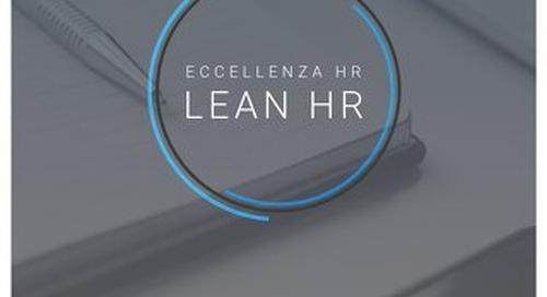 Lean HR: Il segreto per ottimizzare i processi HR