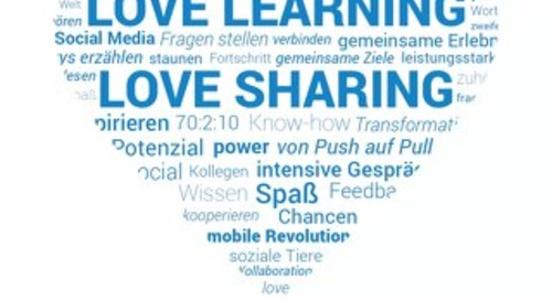 Love Learning, Love Sharing