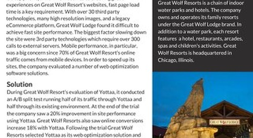 Case Study: Great Wolf Lodge