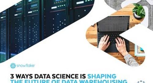 3 Benefits of a Self-Adapting Data Warehouse