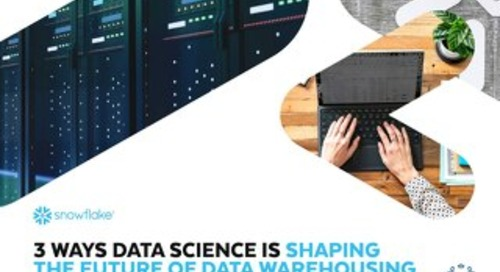 3 Ways Data Science is Shaping the Future of Data Warehousing