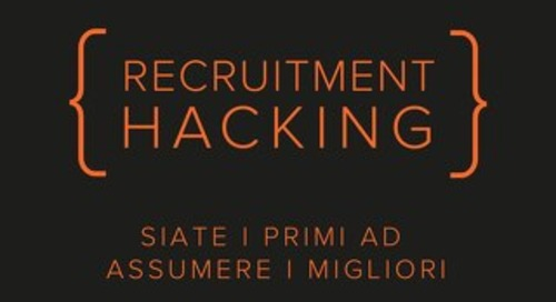 Recruitment Hacking. Una nuova opportunità.