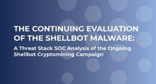 Continuing Evolution of The Shellbot Malware
