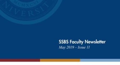 SSBS Newsletter Spring 2019