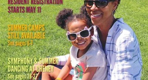 Park District of Oak Park Summer 2019 Program Guide