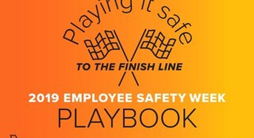 2019 Employee Safety Week Playbook