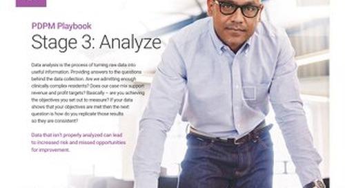 PDPM Playbook - Stage 3 Analyze