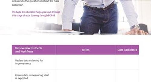 PDPM Checklist - Stage 3 Analyze