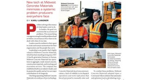 """""""Simplifying Dispatch"""" Featured in Pit & Quarry Magazine"""