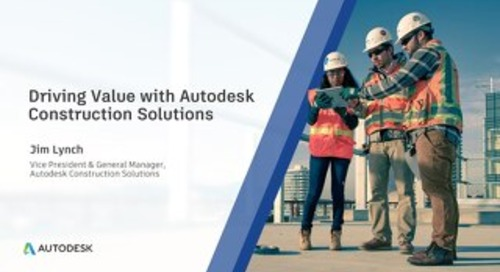 Autodesk Construction Business Update by Jim Lynch