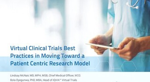 Virtual Clinical Trials Best Practices in Moving Toward a Patient-Centric Research Model