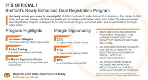 Bretford Deal Registration