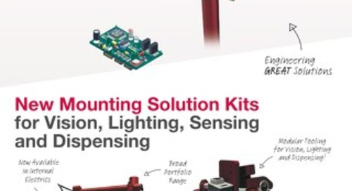 New Mounting Solutions for General Material Handling