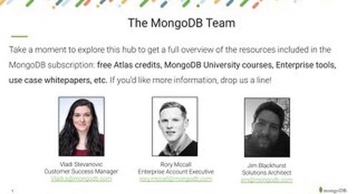 Meet your MongoDB team!