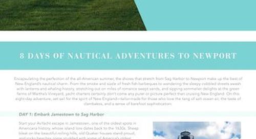 AvYachts Itinerary - New England