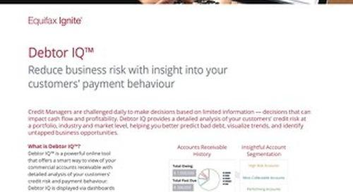 Debtor IQ Product Sheet