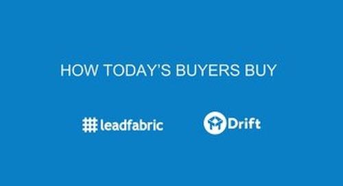 Webinar slides: How Todays Buyers Buy