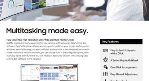 Easy Setting Box Screen Splitting Software