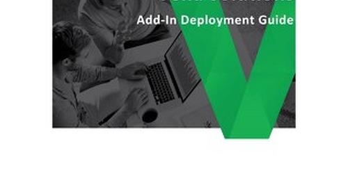 Vena Add-In Deployment Guide