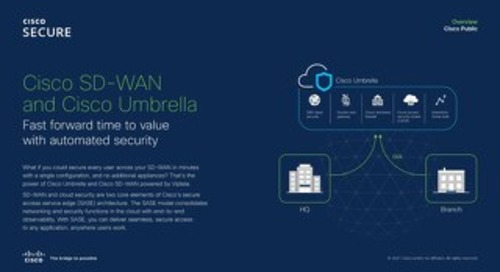 Cisco SD-WAN and Cisco Umbrella