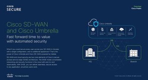 Cisco SD-WAN and Cisco Umbrella